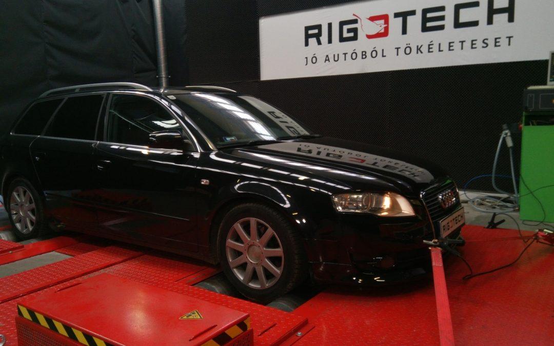 "* ÚJRATUNING * Audi A4 2.0PD (Siemens PPD) ""kicsit"" füstöl…."