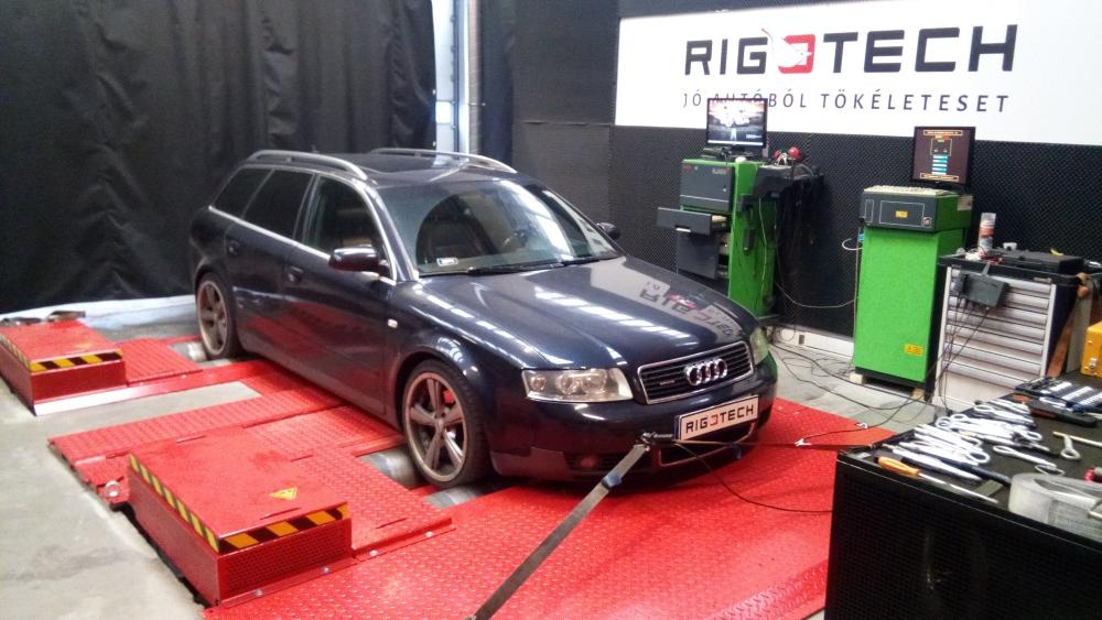 Audi-A4-on-dyno
