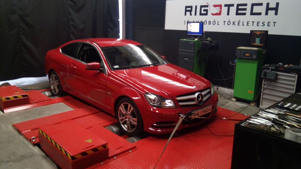 Mercedes-C180-cl203-18KOMPRESSOR-143ps-2012-Chiptuning