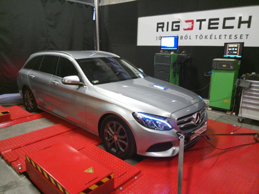 Mercedes-C250-w204-22CDIBLUE-204ps-2015-Chiptuning