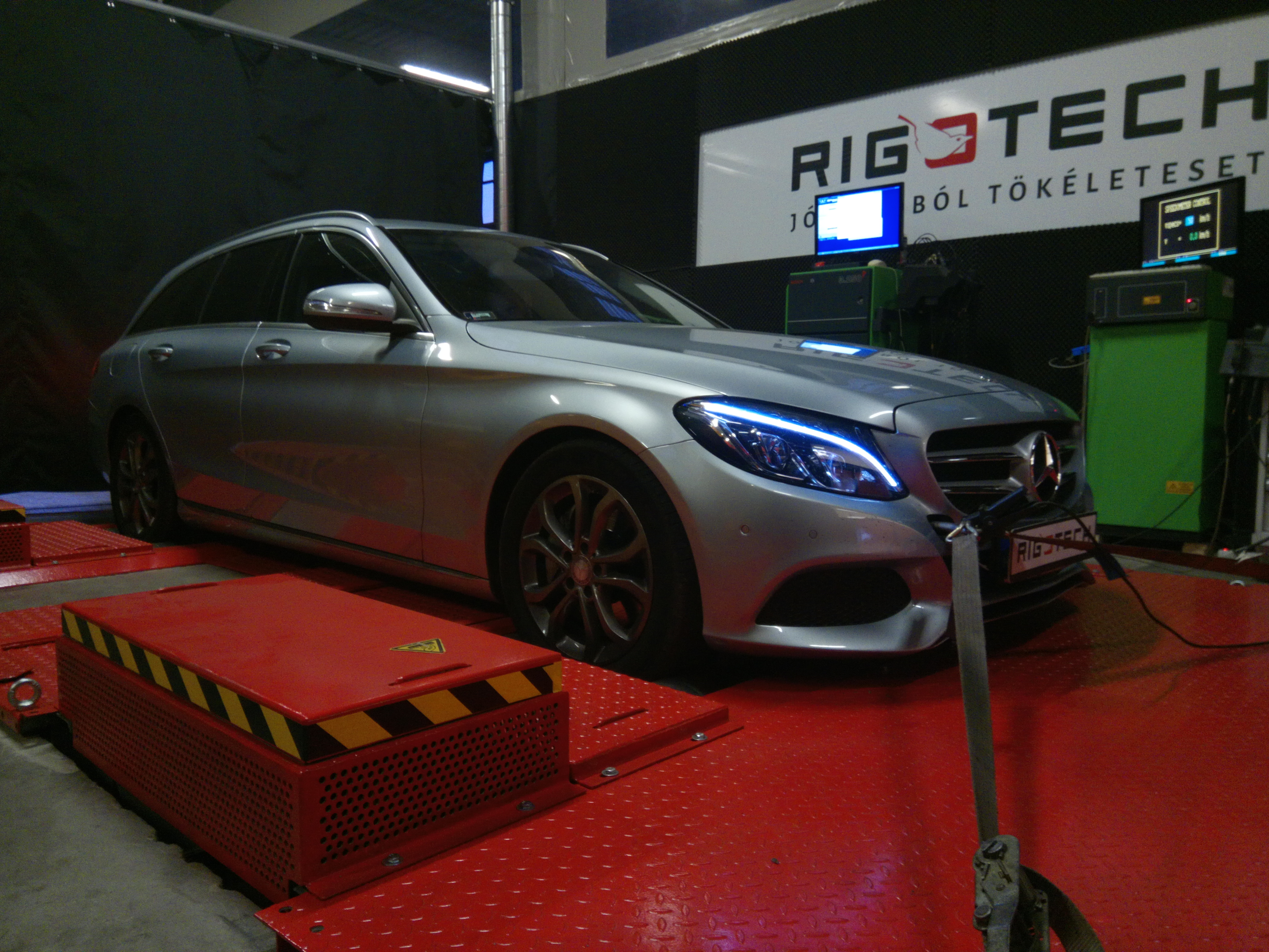 Mercedes-dyno