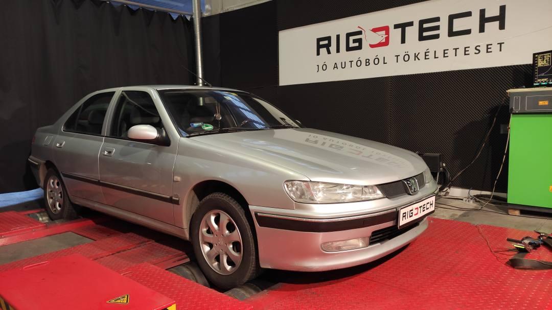 Peugeot-406-20-HDi-110-tuningbox-chiptuning-teljesitmenymeres